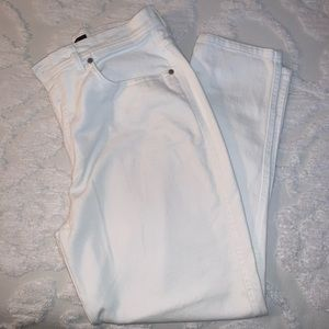 Bill Blass white jeans